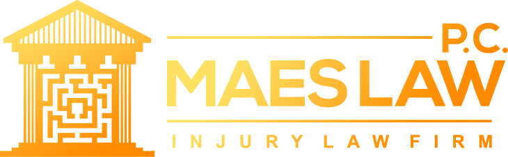 Maes Law, P.C. Dark Logo